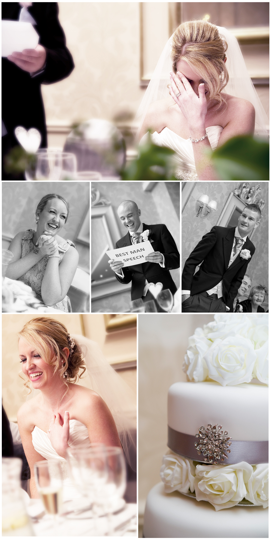 The Speeches - Wedding Photography in Cheshire