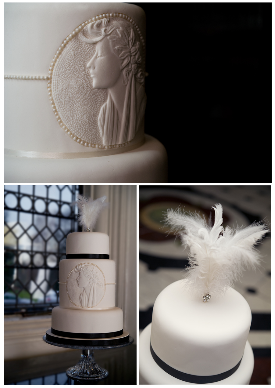 Outstanding wedding cakes by the Lily Ireland Cake Company captured at the fabulous Crewe Hall