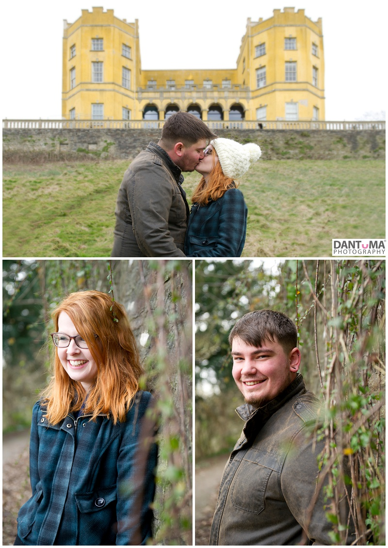 Cheshire Photographer captures engagement shoot for couple who are getting married at Rowton Hall