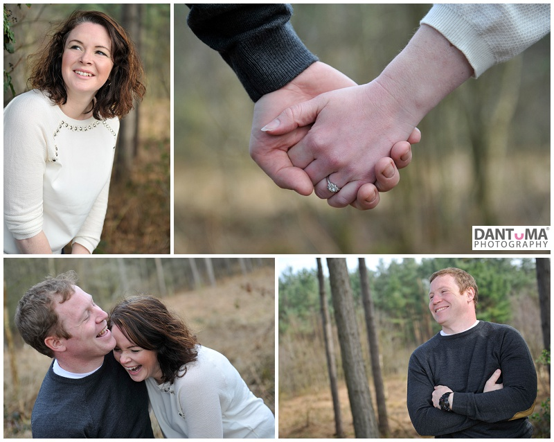Engagement shoot at delamere in cheshire by dantuma wedding photography
