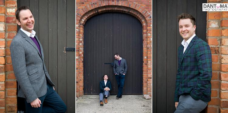 Gay weddings and engagement photography in Cheshire