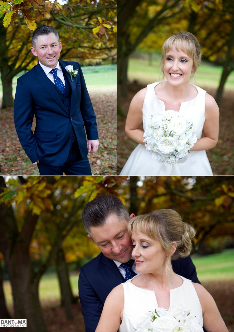 weddings in the autumn at rowton hall