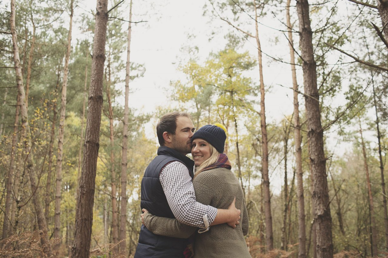 Chester-Woodland-Engagement-Photo-Shoot