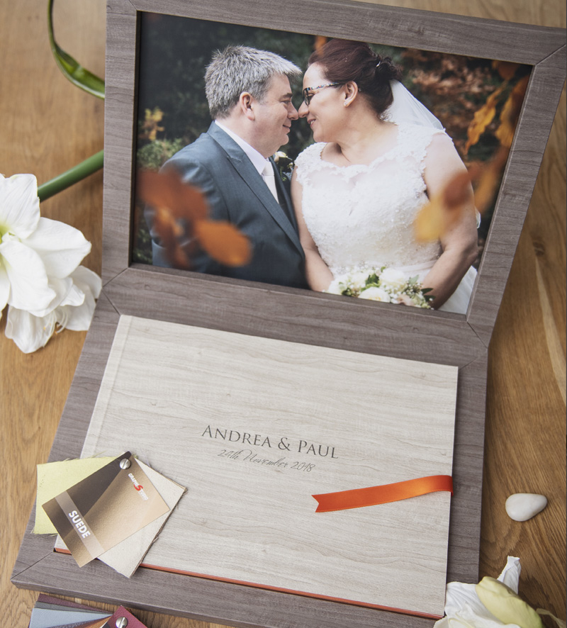 wedding album cheshire